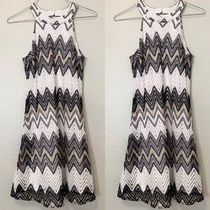 Candies Mini Chevron Dress